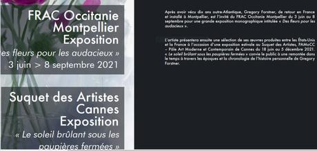 FRAC Occitanie Montpellier « Gregory Forstner – Des fleurs pour les audacieux-