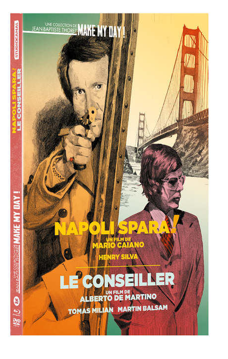 LE CONSEILLER / NAPOLI SPARA !(Concours) 4 Combo Blu-Ray DVD à gagner