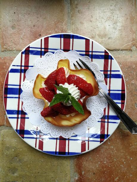 Tulipe aux fraises