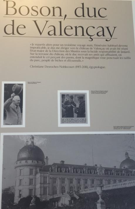 Château de Valencay  « du Louvre à Valencay  » 1939-1946