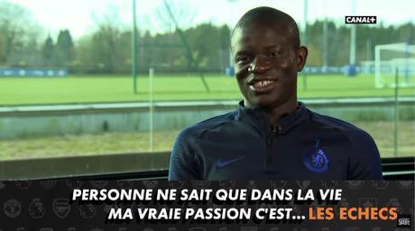 La passion du footballer N'Golo Kanté pour les échecs