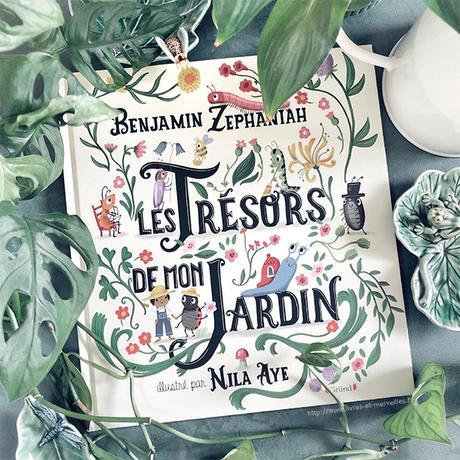 🐝 🐛 Album jeunesse : Les trésors de mon jardin 🦋 🐌