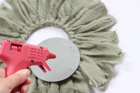 idée créative décoration avec pistolet à colle chaude