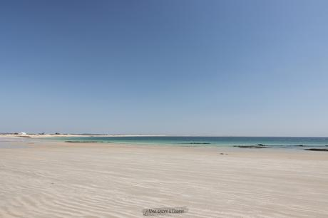 Gâvres, une plage paradisiaque et des brise-lames