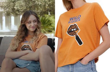 DEMAIN NOUS APPARTIENT : le t-shirt wild kisses de Sofia dans l'épisode 939
