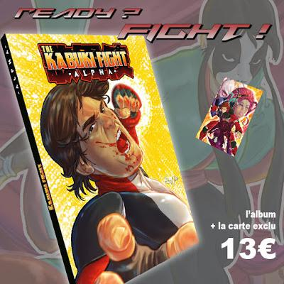 THE KABUKI FIGHT DE VINCENZO FEDERICI : LA VF DISPONIBLE CHEZ EDITIONS REFLEXIONS