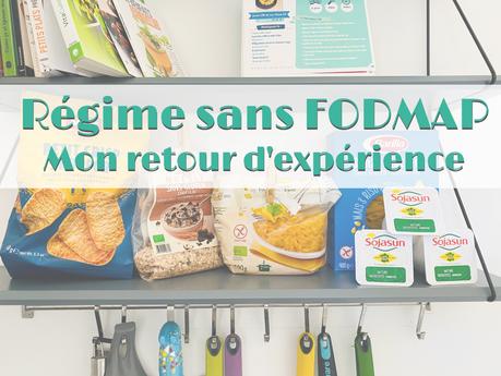 Manger sans FODMAP | mon retour d'expérience