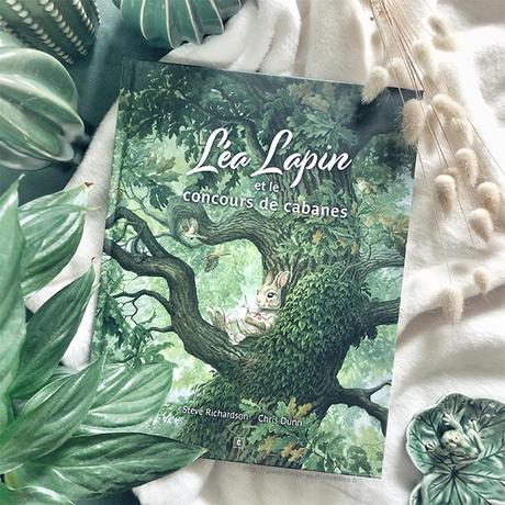 Album jeunesse : 🐰🌳 Léa Lapin et le concours de cabanes 🌳🐰