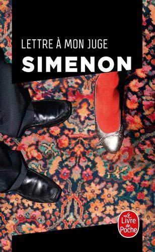 Lettre à mon juge, Simenon
