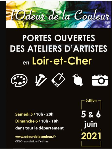 L'Odeur de la couleur (portes ouvertes en Loir-et-Cher) 5/6 Juin 2021
