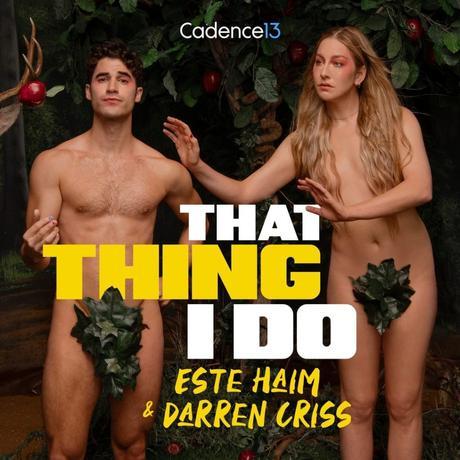 SEXY : Darren Criss défringué pour promouvoir son podcast