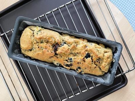 Salé ! – Cake aux olives et aux tomates séchées