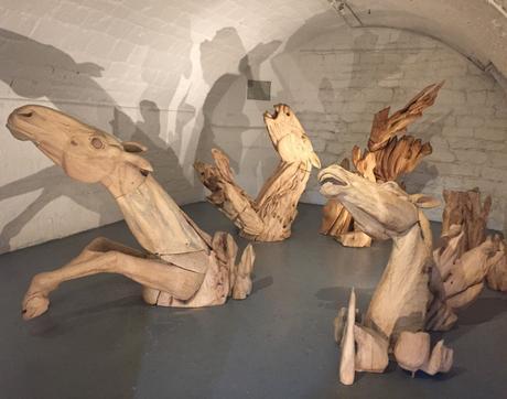 Galerie Marie Vitoux « Les chevaux du temps » Clarisse Griffon du Bellay