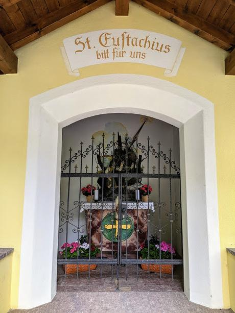 St. Eustachius - Kapelle in Mittenwad / La chapelle de St Eustache à Mittenwald