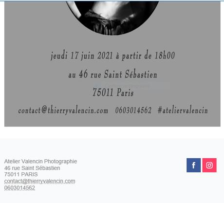 Galerie – Atelier VALENCIN et Galerie Prodomus  le 17 Juin 2021