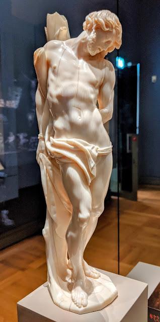 Der heilige Sebastian im Bayerischen National Museum — 9 Bilder /9 photos — Saint Sébastien au musée natiobal bavarois