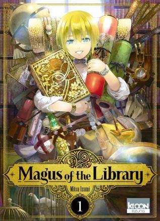 Magus of the Library, tome 1 de Mitsu Izumi