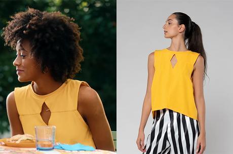 SUMMERTIME : le top jaune de Summer dans l'épisode 2×05