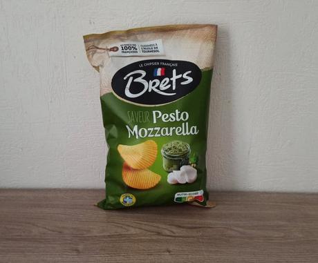 Chips pesto mozzarella BRETS