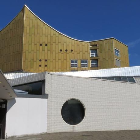 Visite guidée en français sur le thème de l'architecture