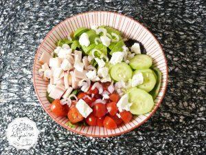 Recette de salade composée feta