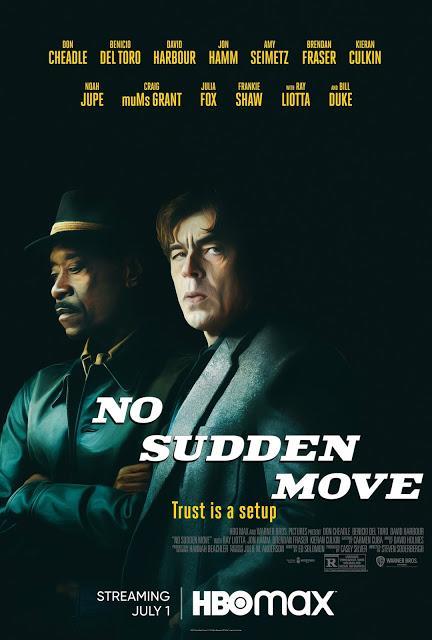 Affiche US pour No Sudden Move de Steven Soderbergh
