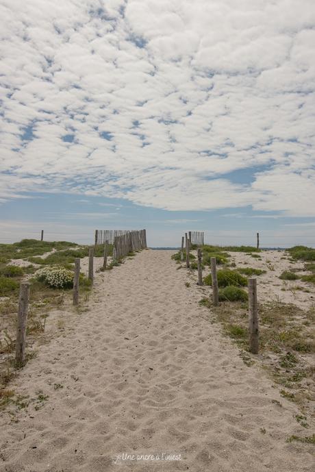 La plage des Kaolins