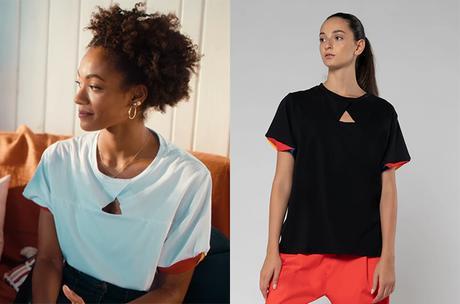 SUMERTIME : le t-shirt blanc avec un trou triangulaire de Summer dans l'épisode 2×05
