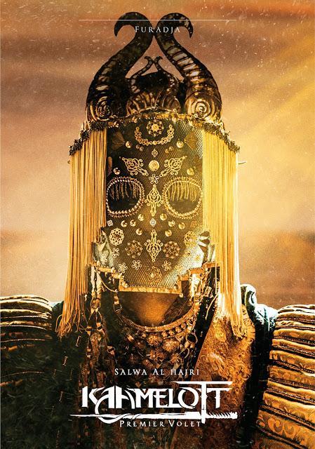 Affiches personnages pour Kaamelott : Premier Volet signé Alexandre Astier