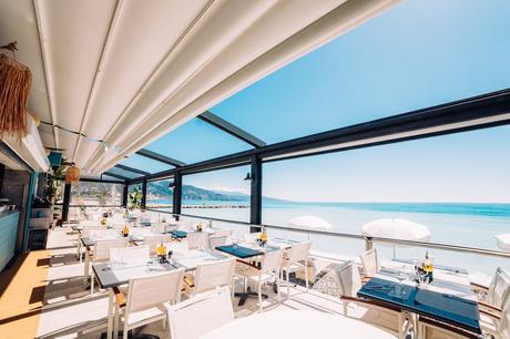 meilleur restaurant vue mer plage Roquebrune Cap Martin