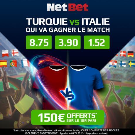 Turquie – Italie : prono, direct, chaine TV… toutes les infos du match