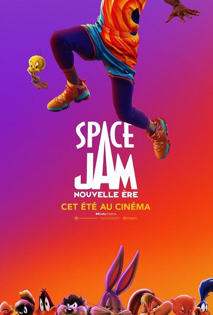 Nouvelle affiche US pour Space Jam : Une Nouvelle Ère de Malcolm D. Lee
