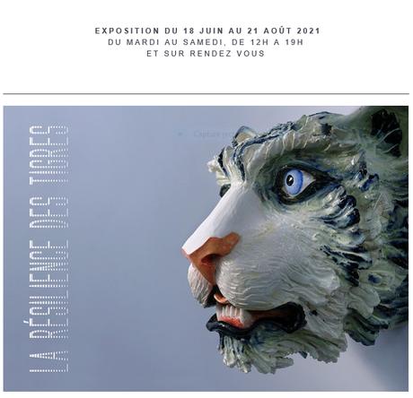 Galerie Sabine Bayasli exposition Agathe Brahami Ferron « La résilience des Tigres » à partir du 17 Juin 2021