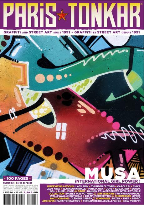 Paris Tonkar magazine #21 disponible