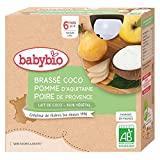 Sélection desserts sans lait pour bébé APLV