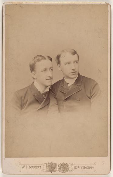 Siegfried Wagner with a companion — Une photographie peu connue du fils de Richard Wagner