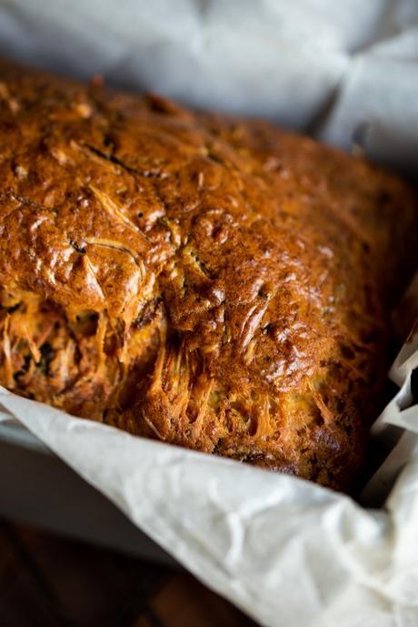 surveiller cuisson couteau recette cake courgette