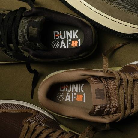 Undefeated et Nike officialisent la collection Dunk vs AF1