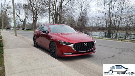 Essai routier: Mazda3 turbo 2021 – Le plaisir de conduire