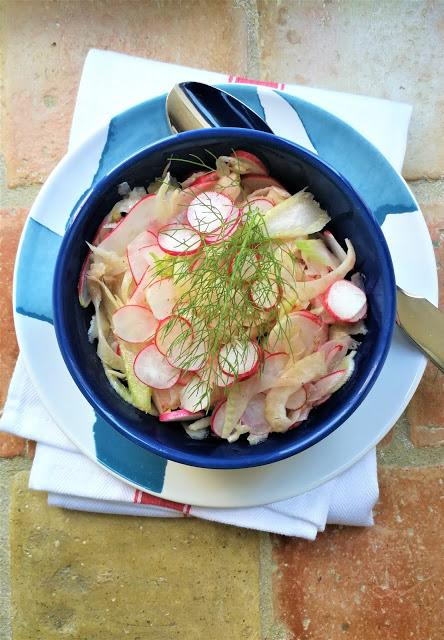 Salade de fenouil aux radis