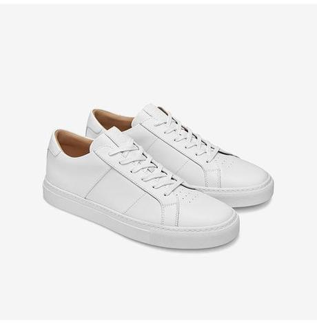 baskets blanches pour homme