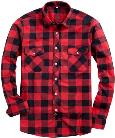 chemise en flanelle homme