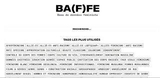BA(F)FE : Base de données féministe