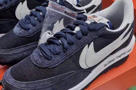 La Fragment x Sacai x Nike LDWaffle apparait dans un nouveau coloris
