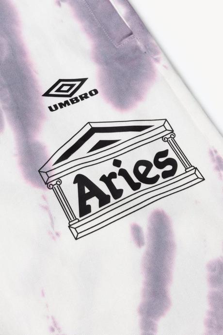 Aries sort une nouvelle collection en collaboration avec Umbro