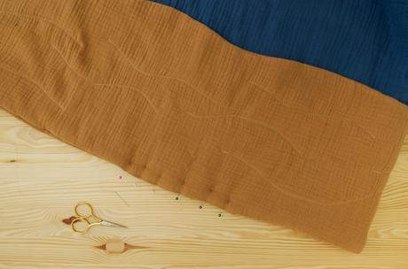 tutoriel couture tapis éveil bébé thème mer chambre déco