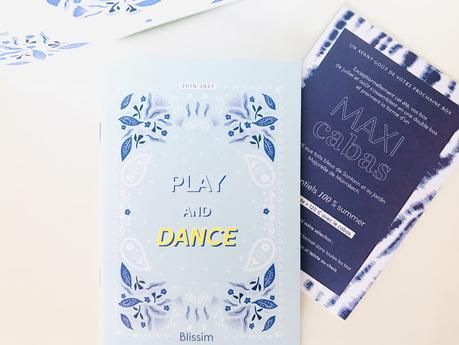 Le récap' de la box Blissim Play and Dance