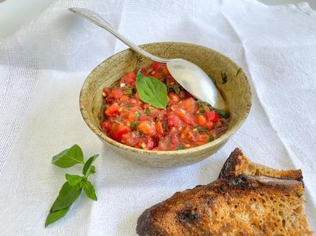 Rouge fraîcheur – Tartare de tomates