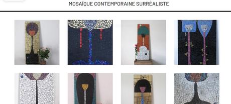 Une jeune artiste avec de superbes créations – Céramiques et des Collages : NYAKOSSI -BOURDIN Ntifafa