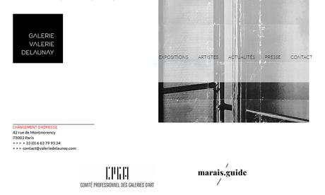 Galerie Valérie Delaunay – une nouvelle adresse et une exposition- à partir du 17 Juin 2021